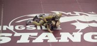 Wrestlers at 1-1 after GV loss (photos)