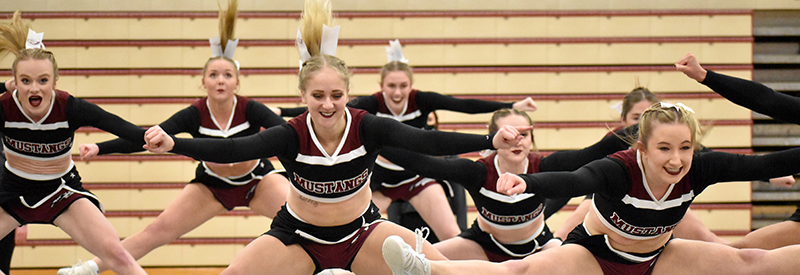 Mustang Cheer and Dance Sweep Grand View (Photos)