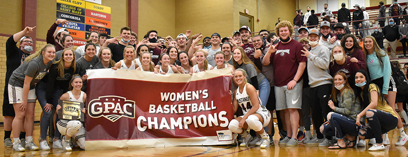 Women's Basketball Claim GPAC Tournament Title (Photos)