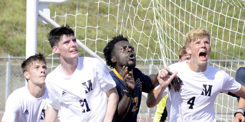 Soccer squads split with William Penn