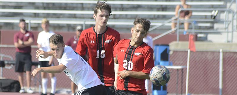 Soccer splits with Cardinal Stritch